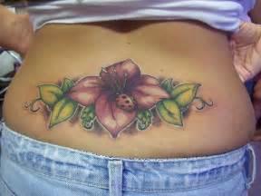 Women Lower Back Tattoo Designs