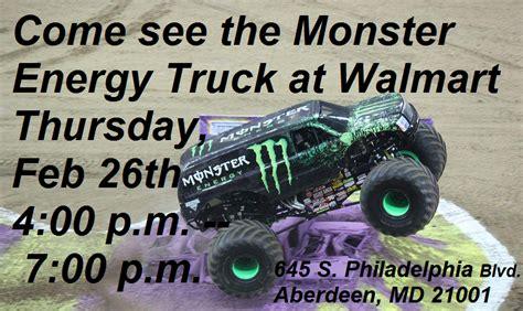 monster truck jam baltimore monster energy monster jam 174 truck makes special appearance