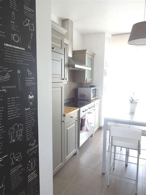 tableau noir cuisine davaus decoration cuisine tableau noir avec des