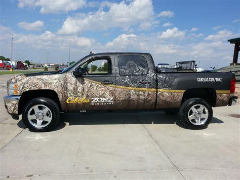 Cabela's Truck Wrap | Peak Graphic Installs, LLC