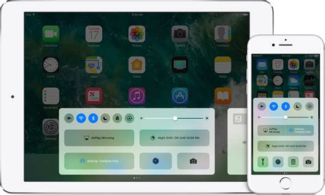 swipe up on iphone use center on your iphone and ipod touch