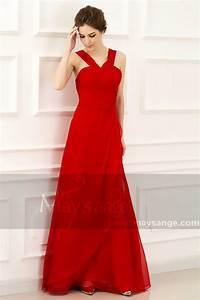 robe de soiree pas cher l772 rouge feu With robe de soirée rouge pas cher