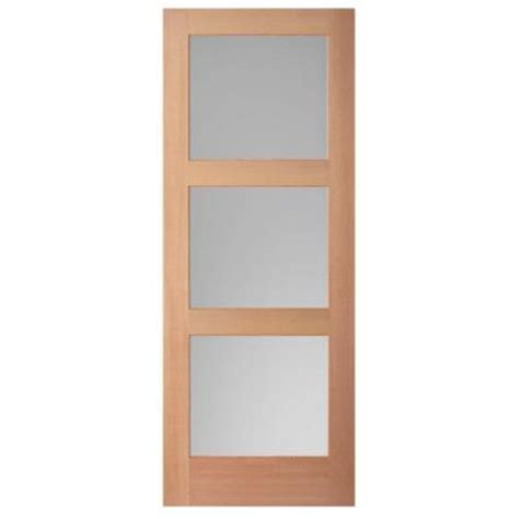 36 x 84 interior door masonite 36 in x 84 in unfinished fir veneer 3 lite