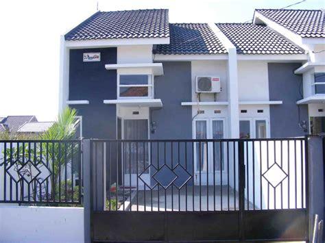 pagar rumah type  desain minimalis