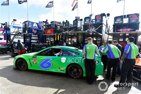 ryan newman roush fenway racing ford mustang acorns