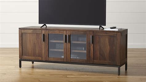 Crate And Barrel Dining Room Furniture by Wyatt 72 Quot Media Console In Tv Stands Amp Media Consoles