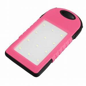 4000mAh Solaire LED Portable Double USB Power Bank Externe