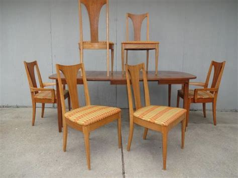 Lenoir Chair Company Dining Set mid century modern broyhill brasilia sculptra lenoir chair