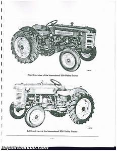 International Harvester Farmall 340 Parts Manual