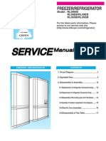 subzero service manual refrigerator mechanical fan