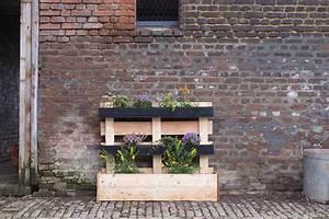 Bac Plantes Exterieur Castorama : cr er une jardini re en palettes upcycling avec ~ Dailycaller-alerts.com Idées de Décoration