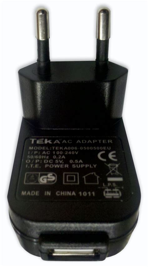 USB AC Adapter/Charger #171511 | Peterson Strobe Tuners