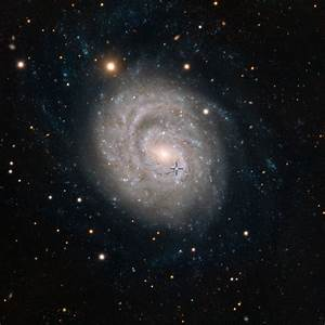 Grand Spiral Galaxy Graced By Faded Supernova