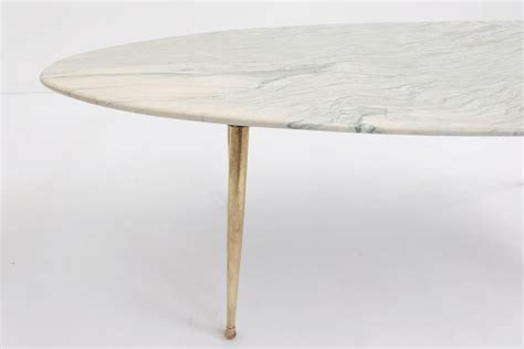 """If you find anyone cheaper we will beat that price. Italian Elegant Oval Coffee Table with """"Liquid Light Green"""" Marble at 1stdibs"""