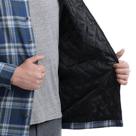 flannel shirt jacket with quilted lining flannel shirt jacket quilted lining lera sweater