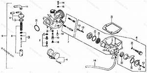Honda Motorcycle 1977 Oem Parts Diagram For Carburetor