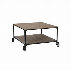 Table Basse A Roulette : table basse a roulette maison design ~ Teatrodelosmanantiales.com Idées de Décoration