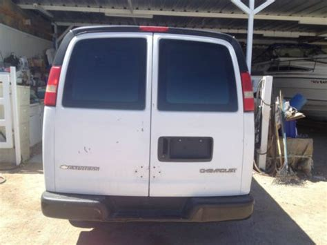 automotive repair manual 2005 chevrolet express 3500 spare parts catalogs purchase used 2005 chevrolet express 3500 base extended cargo van 3 door 6 0l in henderson