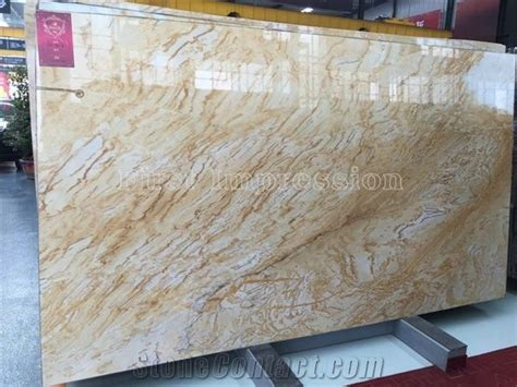 High Grade London Gold Granite Gangsaw Slabs/wall Covering