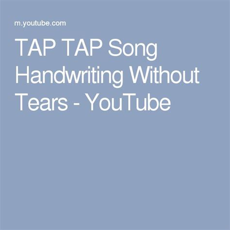 Best 25+ Handwriting Without Tears Ideas On Pinterest