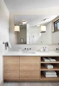 Meuble Sous Lavabo But : meuble sous lavabo salle de bain dot d tag res ouvertes ~ Dode.kayakingforconservation.com Idées de Décoration