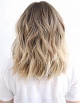 Brunette hair to blonde hair