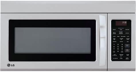 lg stainless   range microwave oven lmvst