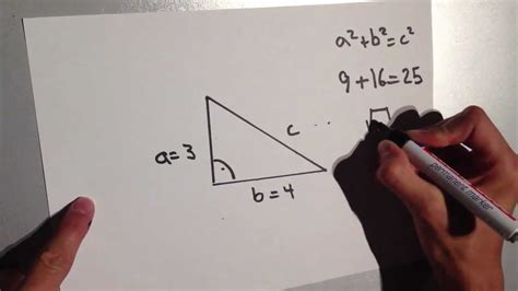 satz des pythagoras erklaeren mathe aufgaben erklaert