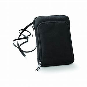 new bag base mens neck cord airport zip document holder With mens travel document bag
