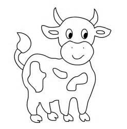 Free Printable Cow Coloring Pages