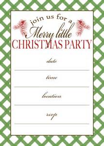 7 best images of free printable christmas invitation templates free christmas party printables
