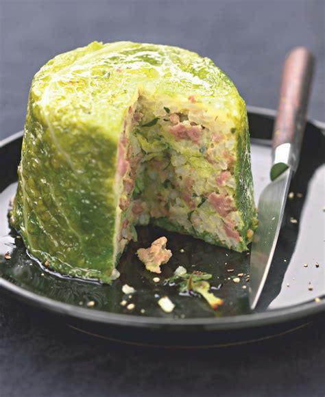 cuisine escargots recette de chou farci