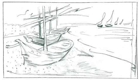 How To Draw A Boat Using Figure 8 by Focal Point Drawing