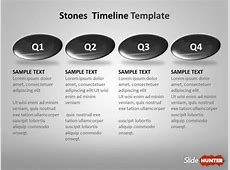Free Stones Timeline Template for PowerPoint