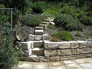 Gartenmauern Aus Beton : gartenmauern trockenmauern hangbefestigungen ~ Michelbontemps.com Haus und Dekorationen