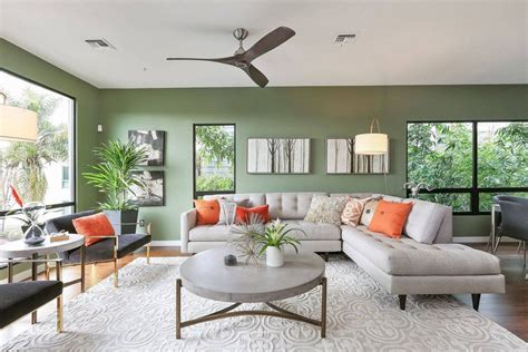 olive green living room walls 30 gorgeous green living