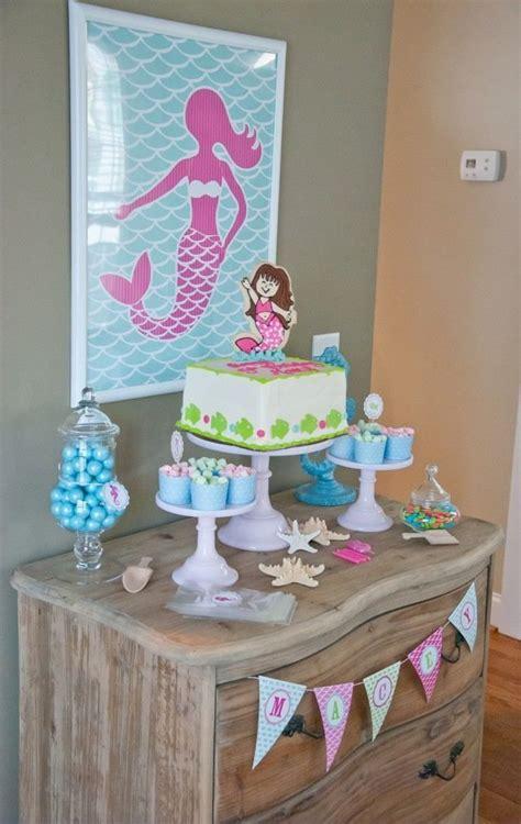 kindergeburtstag 2 jährige deko kindergeburtstag deko haus die kleine meerjungfrau josi