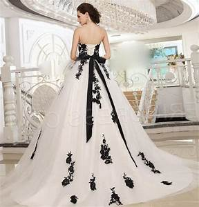 plus size black and white wedding dresses pluslookeu With plus size black and white wedding dresses