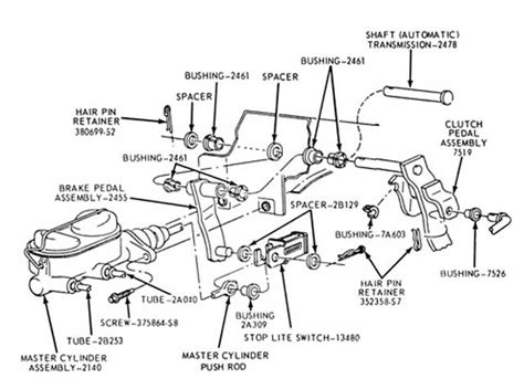 1976 Ford F700 Truck Wiring Diagram by 85 Ford F700 Brake Diagram