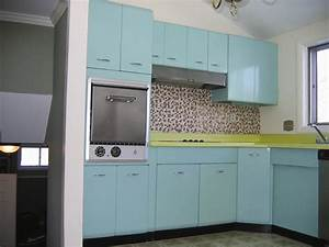 traditional blue retro cabinets and mosaic tile backsplash With kitchen colors with white cabinets with vintage tin tiles wall art