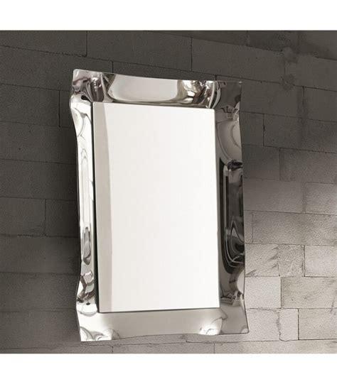 specchi da parete con cornice specchio moderno da parete con cornice argento