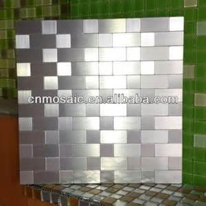 self adhesive kitchen backsplash tiles self adhesive back metal tile mosaic for backsplash view tile mosaic zyc product details from