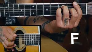 F Barre Chord Exercise For Acoustic Guitar Youtube