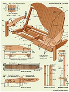 Adirondack Chair(Page 3) Plans for Garden, Rocking, and more