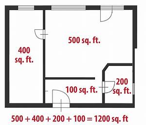 how to calculate square feet even if your home is a With measuring square feet for flooring