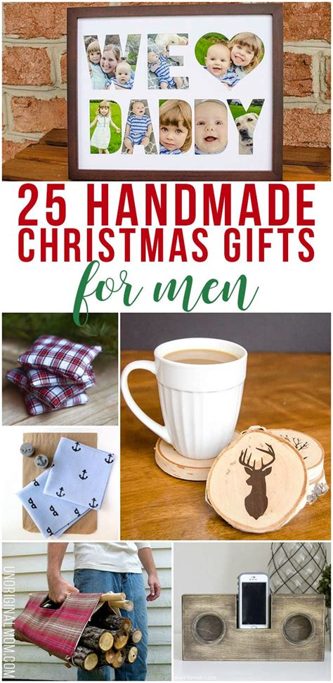 25 handmade christmas gifts for men handmade christmas