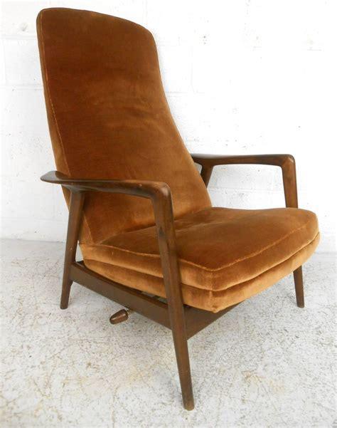 mid century ottoman mid century modern folke ohlsson lounge chair and ottoman