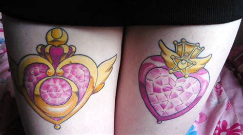 nerdy sailor moon tattoos  empty  tank