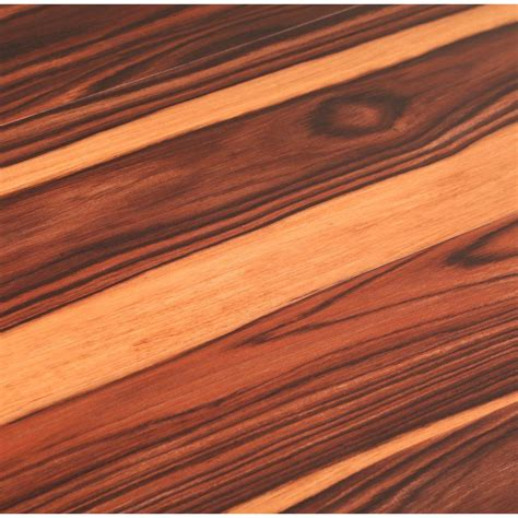 trafficmaster african wood dark      luxury vinyl plank flooring  sq ft case