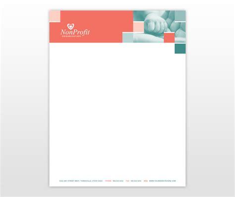 profit association  children letterhead template